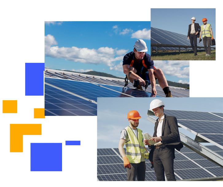 Nextlight ENERGY commercial solar services in minneapolis creative solar image with field area